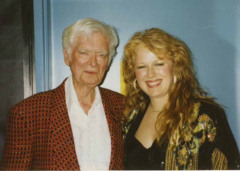 I opened for the great Buddy Ebsen in early 90's.