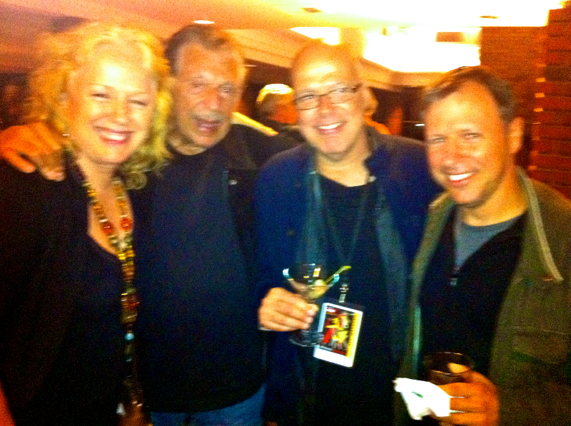 At the Monterey Jazz Fest ~ in heaven with my favorite sax players! With Gene Cipriano, Bob Sheppard & Chris Potter.