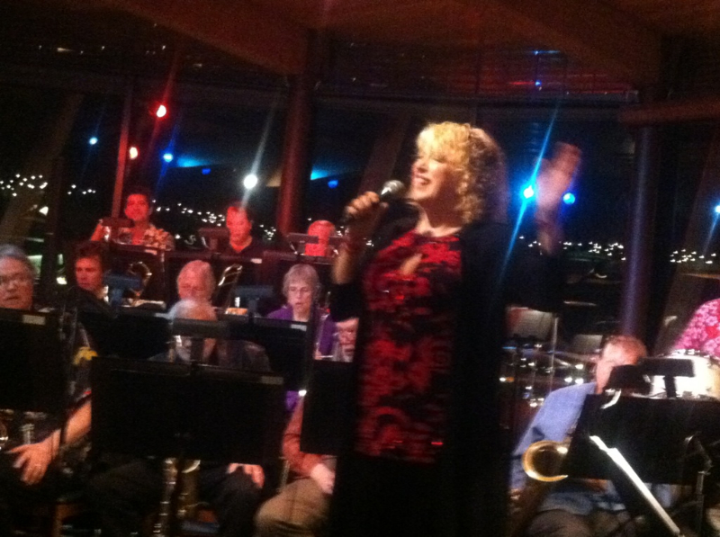 With Emil Richard's Big Band at Typhoon, Dec. 2011.