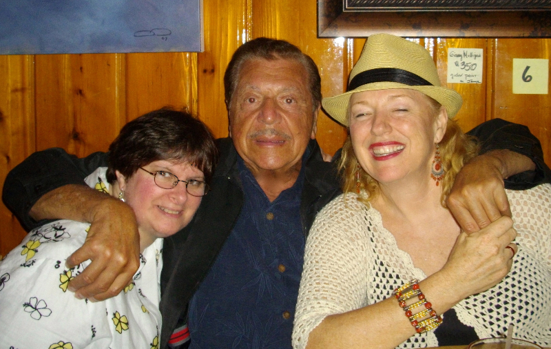 Marla Kleman, Gene Cipriano & Cat Conner at Charlie O's in late 90's. Marla is -The- Jazz aficionado and I met her at a Buddy Rich concert in 1960!