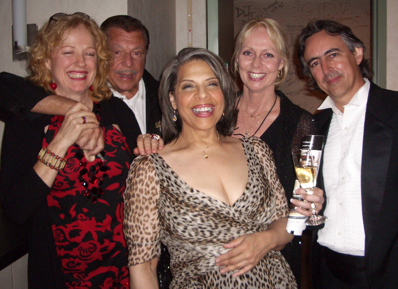 With Gene Cipriano, Patti Austin, Lee Hartley & Jeff Colella in Palm Desert.