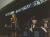Skeet's Herford's 80th b'day celebration in early 90's. Cat singing with Skeet's Big Band with Gary Scott.