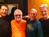 My Jazz angels: Gene Cipriano, George Mesterhazy, Jim Hughart & Paul Tavenner of Big City Music.