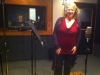 Recording  'Cat Tales' @ Big City Recording with Paul Tavenner in the booth.