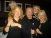 Cip & Cat at Vitello's with Susan Heldfond, Susan Krebs and my sister Betty Lovegren.
