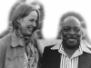 Talking to Count Basie about when Mom & I took a home made dinner to him a few years earlier.