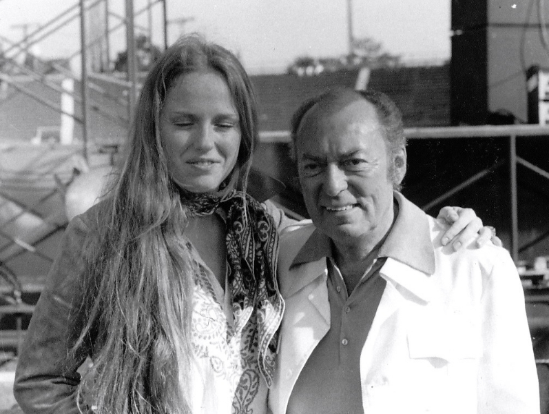 Toronto Film fest in '74 with Woody Herman -What a sweet man.