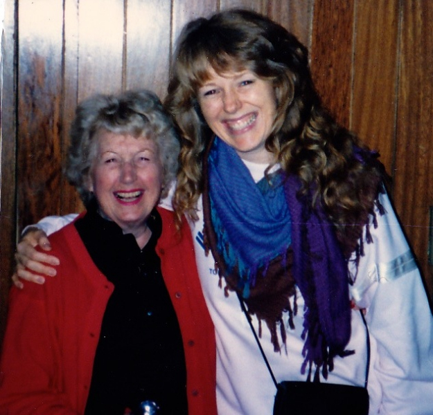 With Liltin' Martha Tilton in Sao Paulo, Brazil.
